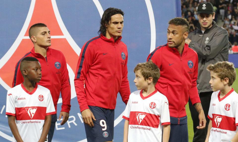 """PSG/Toulouse - Cavani """"L'équipe n'est pas encore complètement au top"""""""