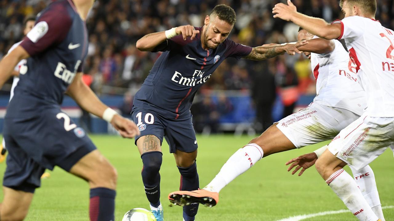 """Dugarry : Neymar """"Ce garçon a juste de la magie dans les pieds"""""""