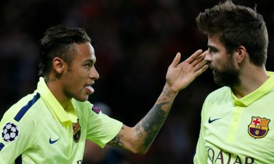 Piqué rend un bel hommage à Neymar