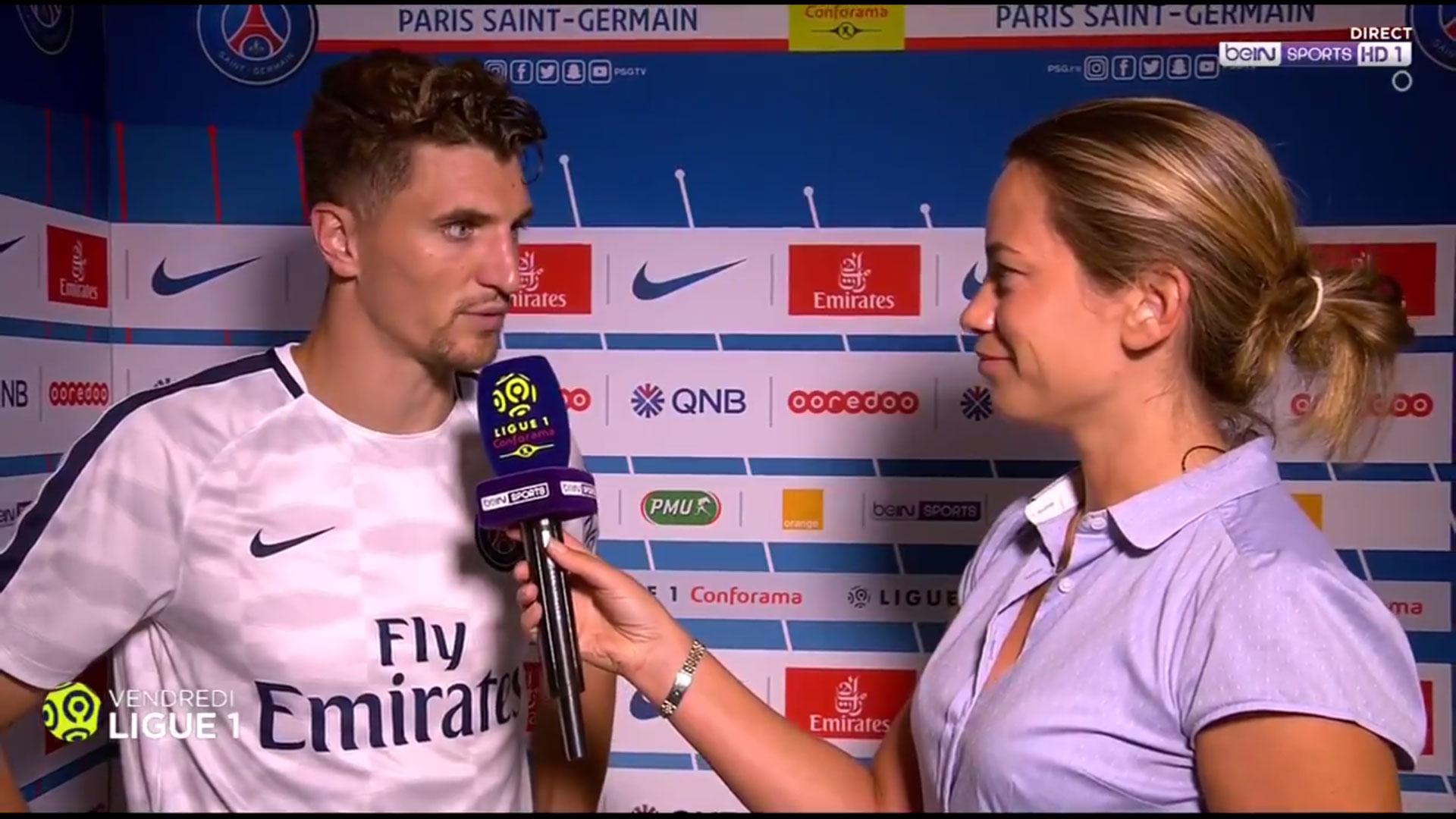 """PSG/ASSE - Meunier """"Le PSG est là pour tout rafler cette saison"""""""