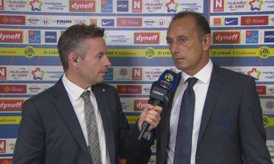 """Der Zakarian """"Le PSG a eu du mal à mettre de la vitesse dans le jeu sur cette pelouse, tant mieux pour nous"""""""