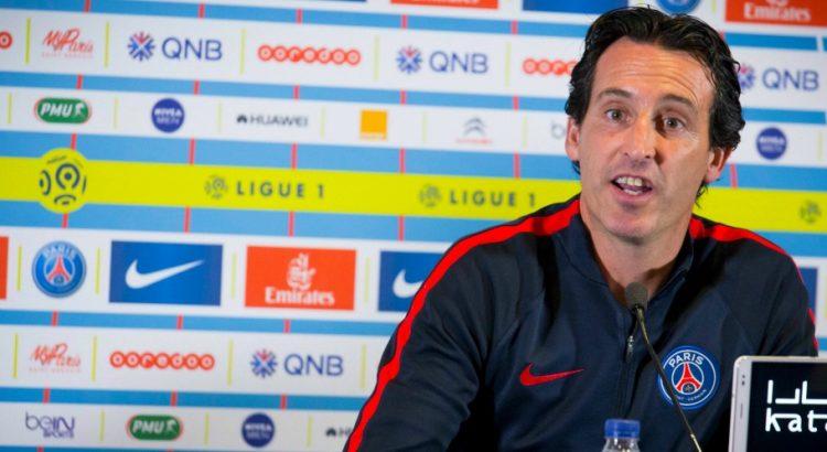 """PSG/OL : Emery """"c'est bien de connaître de la difficulté"""""""