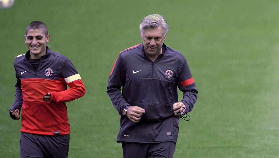 Verratti Si je suis ici et que je peux jouer de grands matchs, c'est surtout grâce à Ancelotti