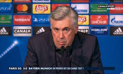 """Carlo Ancelotti: """"le PSG a changé de schéma après le premier but"""""""