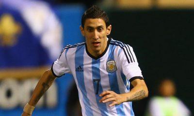 Angel Di Maria encore sélectionné avec l'Argentine, pas Javier Pastore