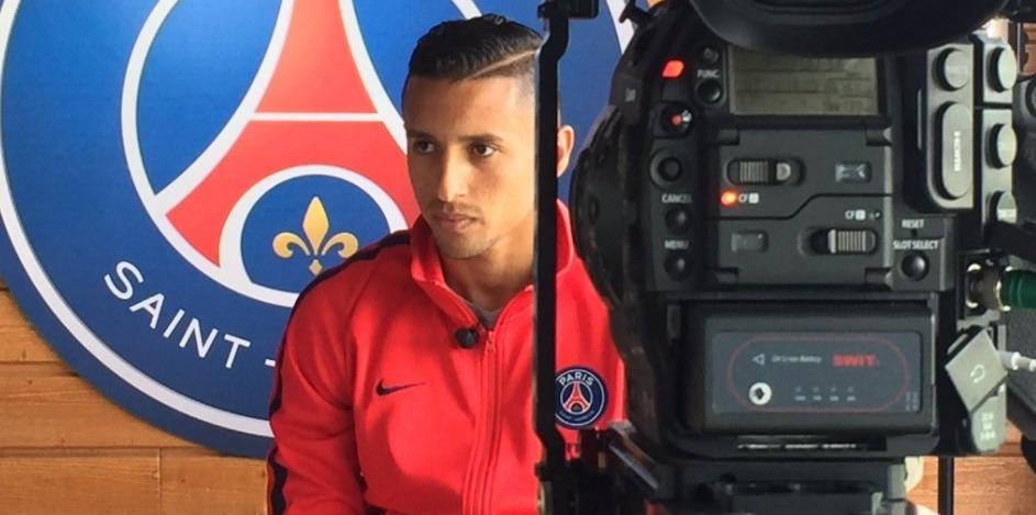 """Marquinhos """" j'essaie toujours de pousser mon équipe. J'aime bien cette responsabilité """""""