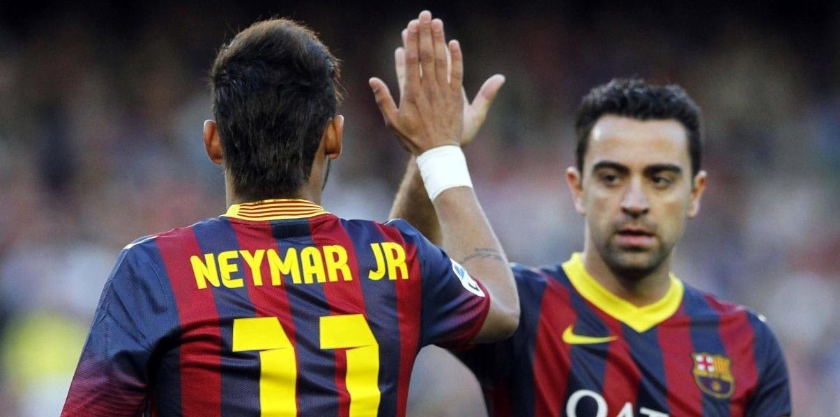 """Xavi : Neymar """"m'a seulement dit qu'il voulait s'en aller"""""""