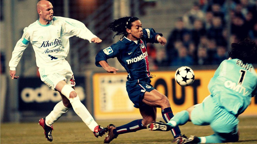 """Leboeuf """"je la mets en plein sur la poitrine de Ronaldinho et le mec part tout seul au but"""""""