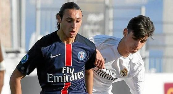 Azzedine Toufiqui a signé son premier contrat professionnel au PSG