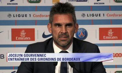 """PSG/Bordeaux - Gourvennec """"ils ont été d'une précision chirurgicale"""""""