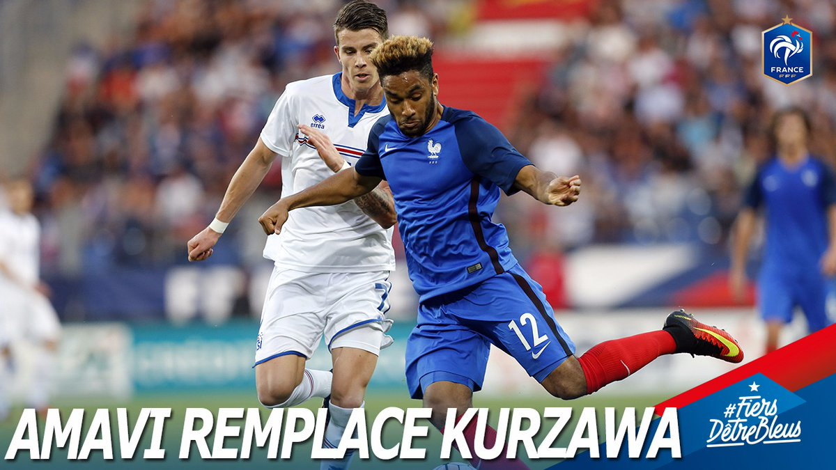 Equipe de France - Layvin Kurzawa finalement forfait et remplacé par Jordan Amavi
