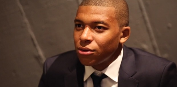 Mbappé donne son top 5 pour le Ballon d'or