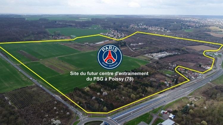La livraison du centre d'entraînement du PSG risque de prendre du retard, indique Le Parisien
