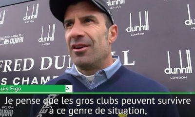 """Figo """"C'est impossible que des clubs comme le Barça ou le Real ne dépendent que d'un joueur"""""""