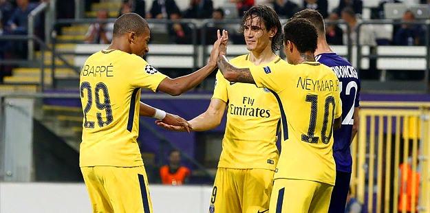 Anderlecht/PSG (0-4): Les notes des Parisiens : Aréola décisif, l'activité de Verratti