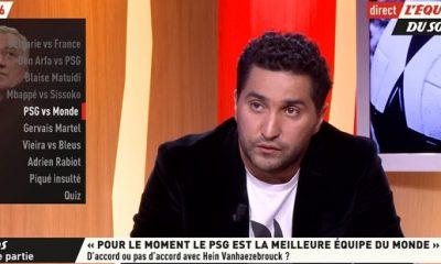 """Djellit """"Pour moi le PSG est la meilleure équipe du monde actuellement"""""""