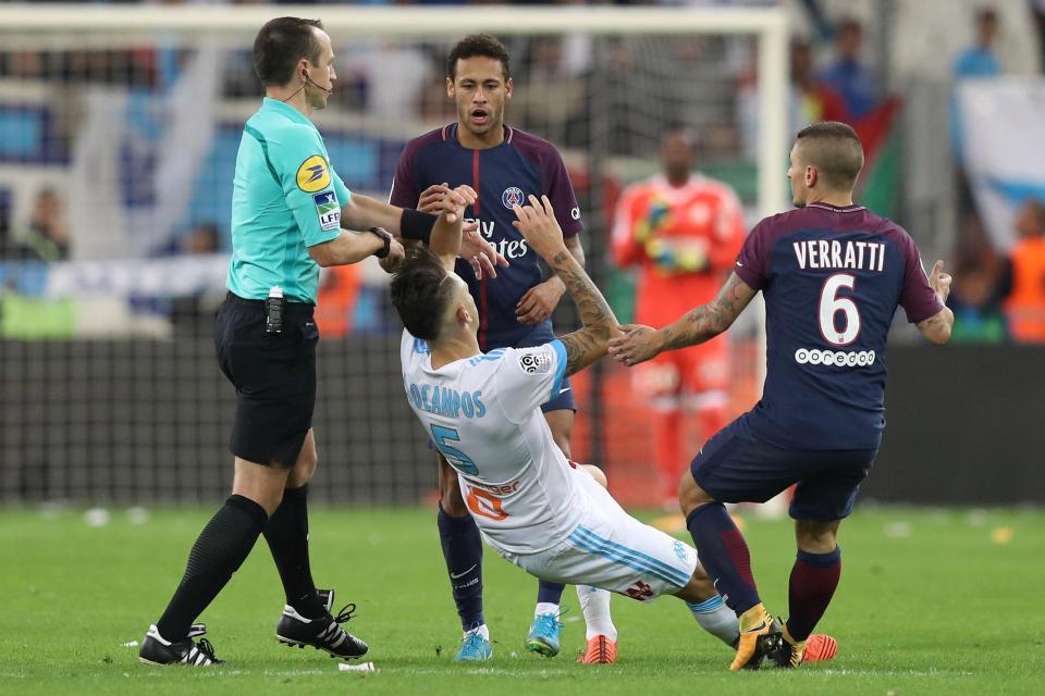 Neymar Mon expulsion était exagérée...j'ai des marques sur tout le corps
