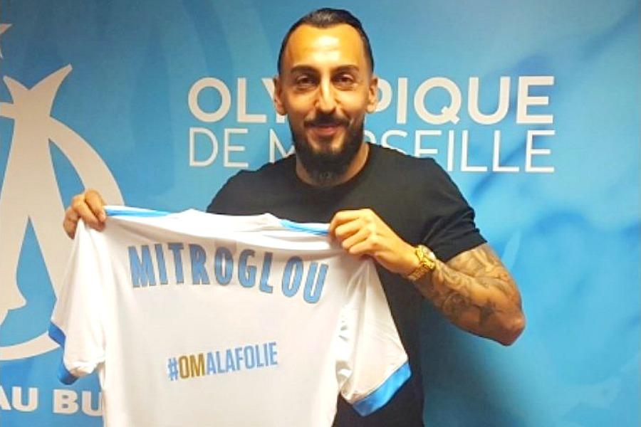"""OM/PSG - Mitroglou """"L'objectif c'est que l'équipe soit bien, qu'on gagne contre le PSG"""""""
