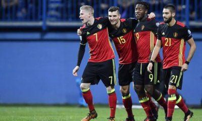 Thomas Meunier buteur et passeur lors de la victoire de la Belgique contre la Bosnie