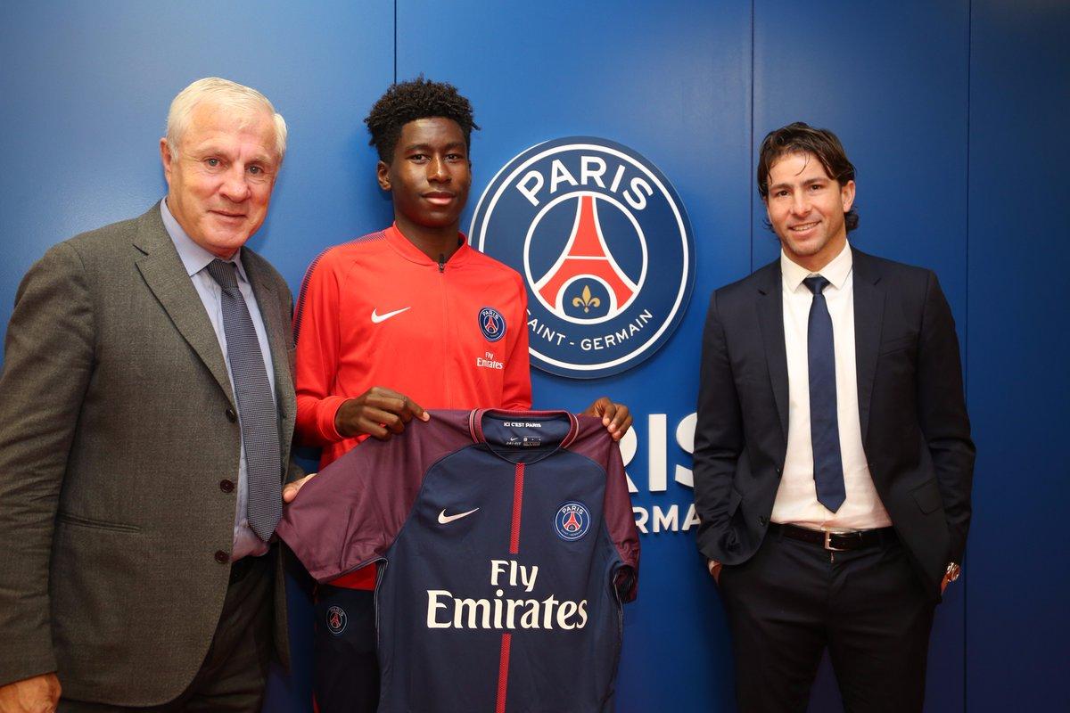 Timothée Pembele a signé son contrat aspirant au PSG, c'est officiel !