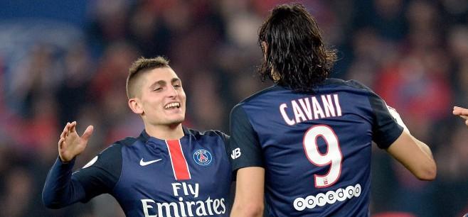 """Cavani """"Le meilleur joueur avec qui j'ai joué ? Marco Verratti"""""""