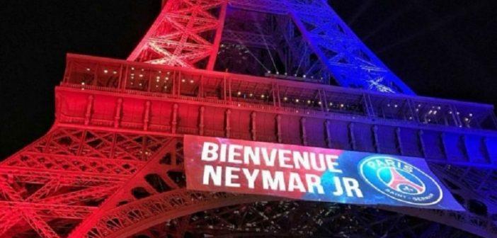 """Neymar Senior """"Cela a été incroyable de voir le nom de Neymar sur la Tour Eiffel"""""""