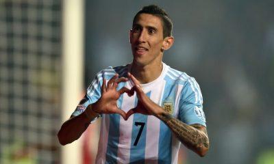 Di Maria convoqué avec l'Argentine, Lo Celso en réserve et Pastore de côté
