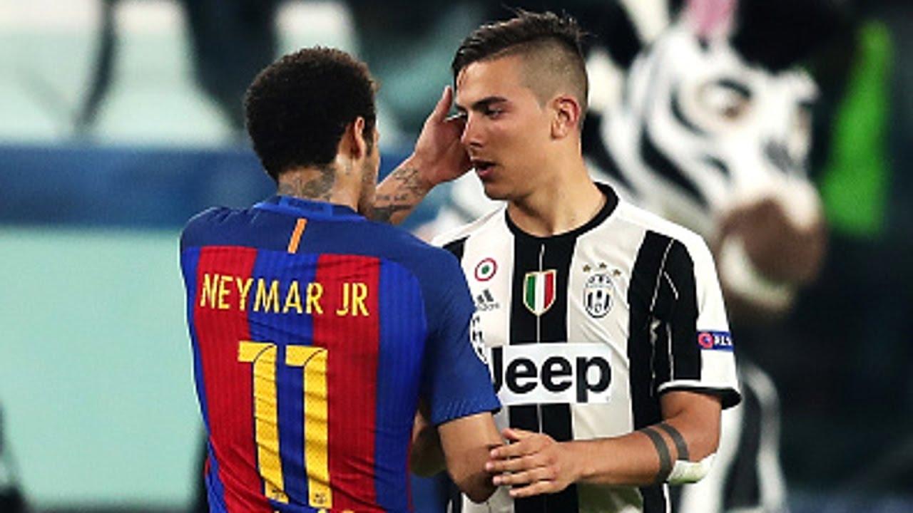 Dybala Cristiano et Messi ont fait des choses incroyables, maisNeymar est très proche de leur niveau
