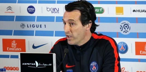 """AS Monaco/PSG - Emery """"Notre équipe a encore besoin de progresser pour obtenir de meilleures performances"""""""