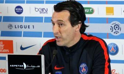 PSG/Troyes - Unai Emery en conférence de presse à 13h30