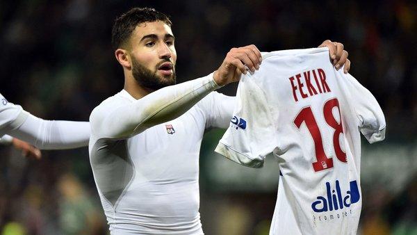 Fekir Aller au PSG Quand on est Lyonnais, le seul club français attirant rester Lyon