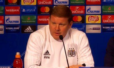 """Vanhaezebrouck """"Dommage pour eux que la finale de la Ligue des champions ne soit pas la semaine prochaine"""""""