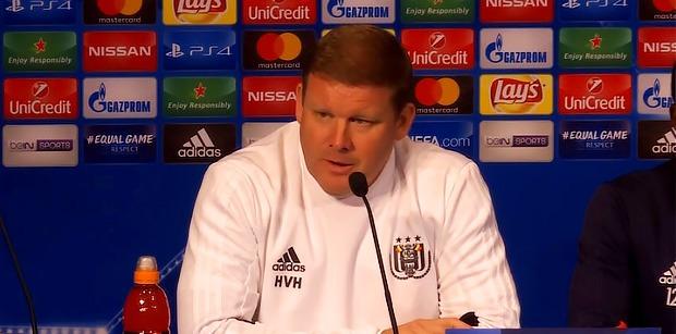 """Vanhaezebrouck """"C'est dommage pour eux que la finale de la Ligue des champions ne soit pas la semaine prochaine"""""""