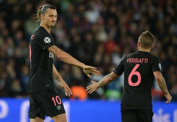 Ibrahimovic adoube Verratti, personne n'est plus fort, et conseille I'Italie sur son utilisation