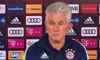 """Bayern/PSG: Heynckes """"Remonter le 3-0 de Paris ce sera naturellement très difficile"""""""