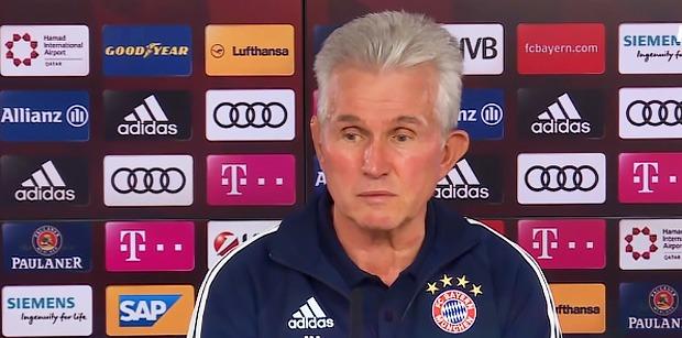 """Heynckes """"Remonter le 3-0 de Paris ce sera naturellement très difficile"""""""