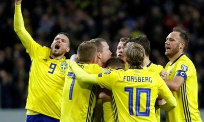 La Suède se qualifie pour la Coupe du Monde 2018, l'Italie et Verratti n'y seront pas
