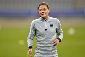 Lair Laure Boulleau ne sera pas dans le groupe face à Montpellier...il n'y a pas plus forte