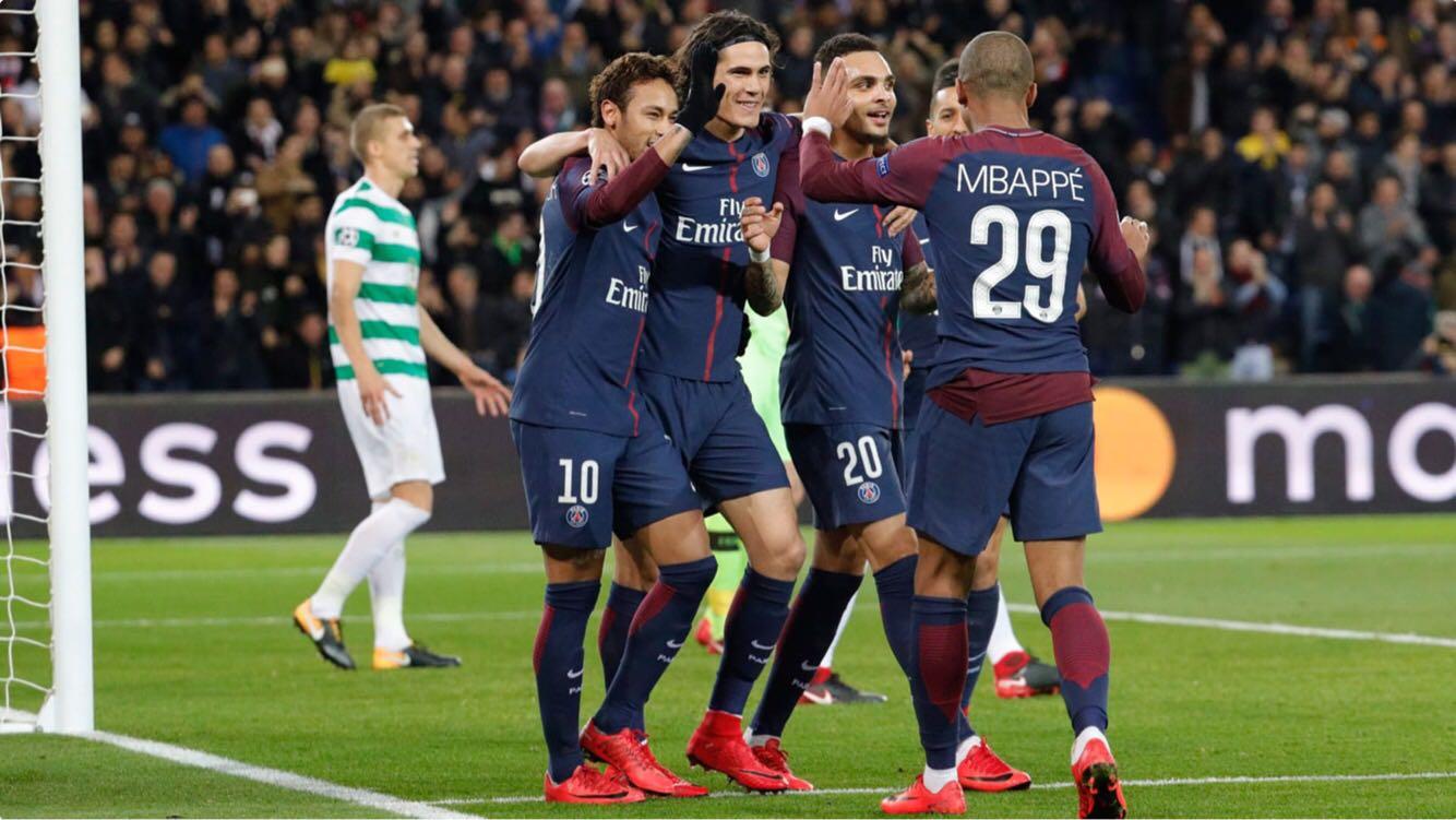 Les images de ce mercredi du PSG superbe victoire contre le Celtic !.jpg