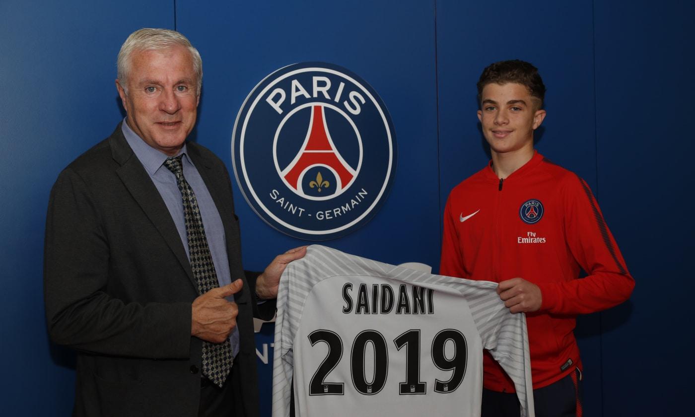 Le jeune gardien Yanis Saidani a signé un contrat d'apprenti au PSG, c'est officiel