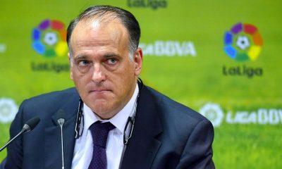 Javier Tebas pourrait être exclu de la Liga pour une histoire d'emprunt interdit