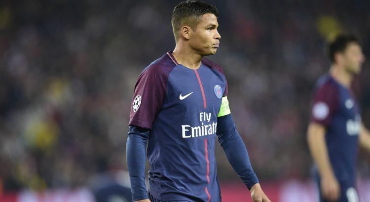 """Thiago Silva """"J'espère reste encore longtemps au PSG...Troyes, c'est la meilleure équipe qu'on a affronté"""""""