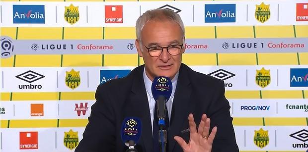 """Ranieri """"Pour moi, le PSG a d'ores et déjà gagné le championnat"""""""