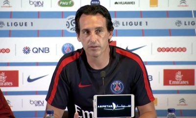 PSG/Troyes - Unai Emery s'exprime à propos de la fermeture de la tribune Auteuil