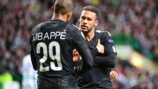 Bitton Neymar, qui avait quitté la Catalogne pour s'écarterde Messi et de Suarez, découvre Mbappé