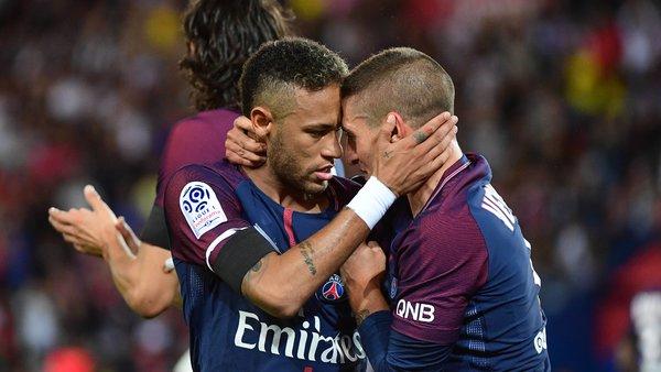 Dani Alves, Verratti et Neymar sont les meilleurs à leur poste cette saison en Europe, selon le CIES