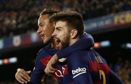 Gerard Piqué Neymar, ça a fait vraiment du mal au Barça quand il est parti