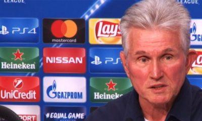 """Bayern/PSG - Heynckes """"La clé du succès a été l'état d'esprit de l'ensemble de l'équipe"""""""
