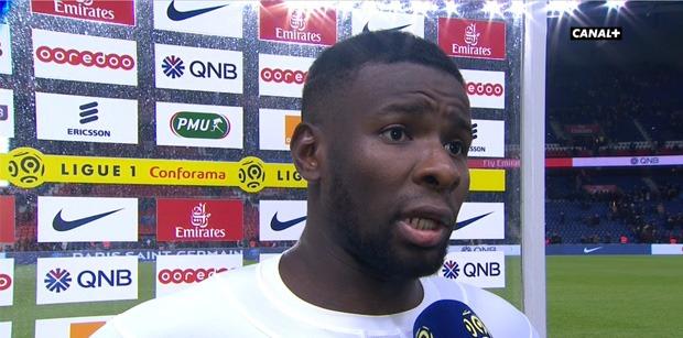 """PSG/LOSC - Amadou """"On a des regrets, on les a trop respectés en première mi-temps"""""""