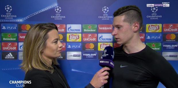 """PSG/Bayern - Draxler """"Il faut jouer 90 minutes pour gagner ici, nous n'avons joué que 45 minutes"""""""